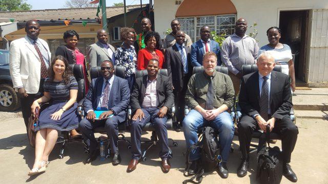 Plott utdanner sykepleiere i Zambia